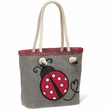 Dotty Knotted Soft Tote - H54327