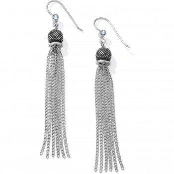 Salma Tassel French Wire Earrings-JA2581