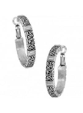 Baroness Leverback Hoop Earrings