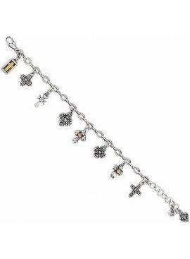 Eternity Cross Bracelet
