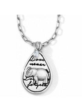 Nature's Wisdom Elephant Necklace