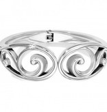 Echoes Hinged Bangle-JF0650