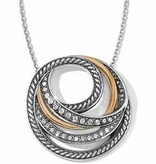 Neptune's Rings Short Necklace-JL4163