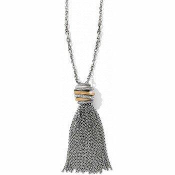 Neptune's Rings Tassel Necklace-JL4173