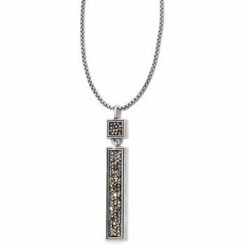 Crystal Rocks Convertible Reversible Necklace-JL4222