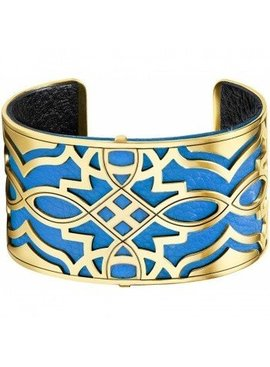 Christo Paris Wide Cuff Bracelet Set