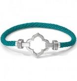Color Clique Cord Bilbao Bracelet Set-JF1482