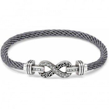 Color Clique Cord Infinity Bracelet Set-JF1460