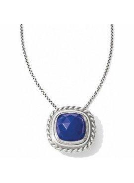 Color Clique Gem Lapis Necklace