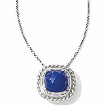 Color Clique Gem Lapis Necklace-JL5090
