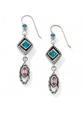 Halo Horizon French Wire Earrings