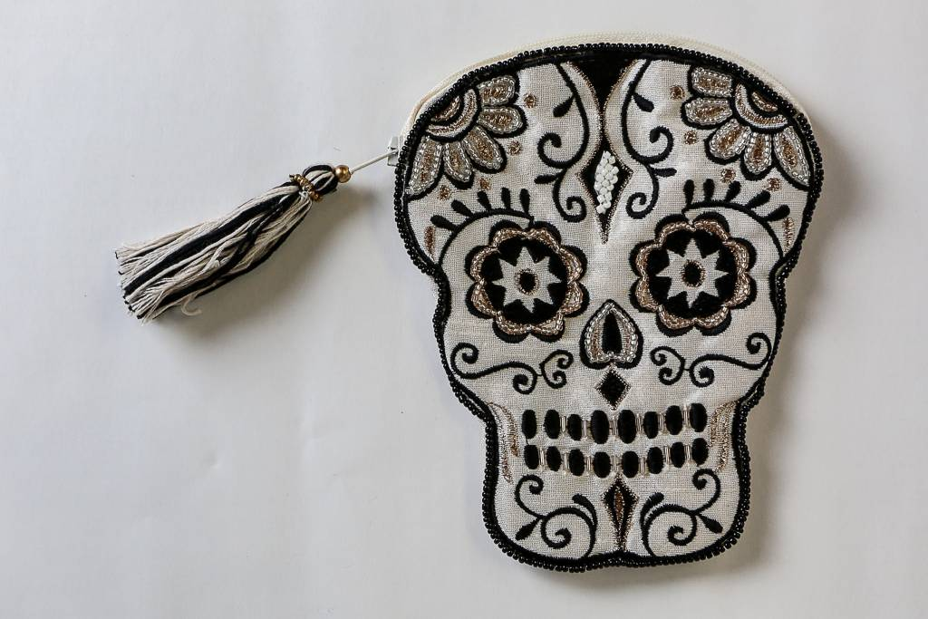 Two's Glam Skull Pouch 21784-20