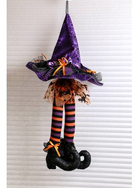 Hanging Witch Hat With Legs