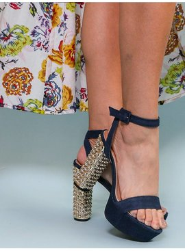 Ankle Strap Denim