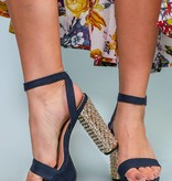 Ankle Strap Denim - Mireya 35
