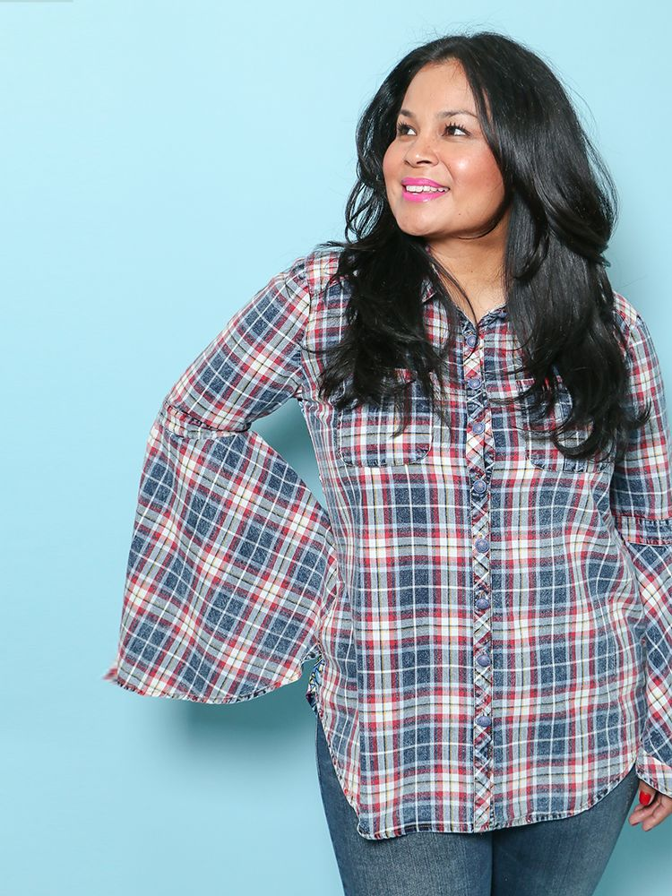 Plaid For You Shirt ED17G311A