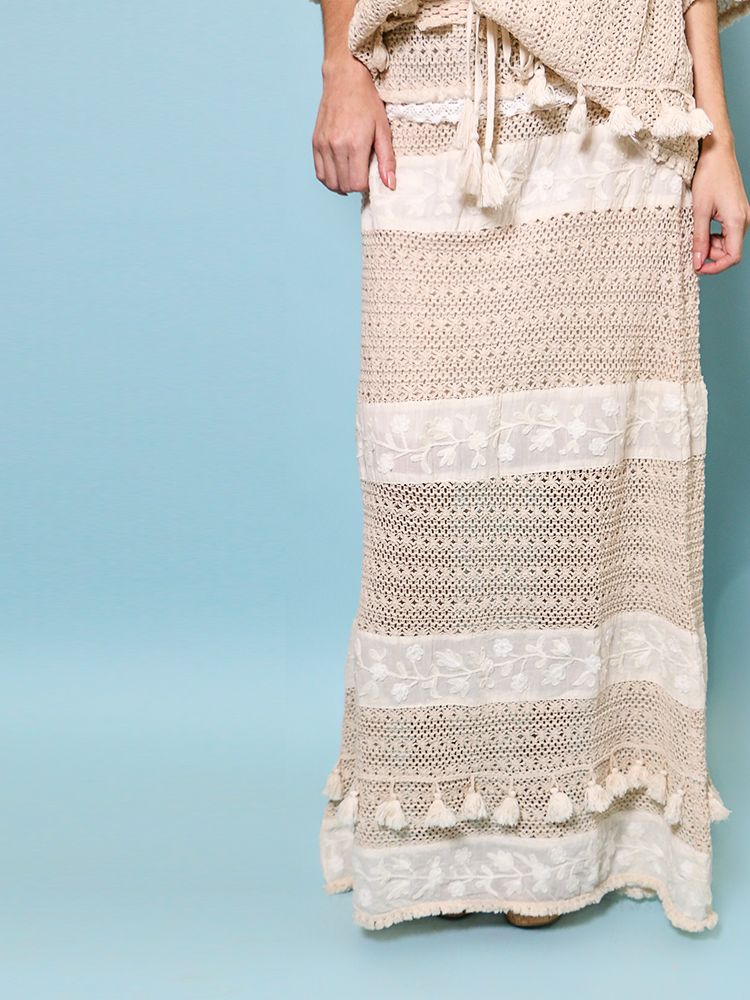 Maglia Embroidered Skirt