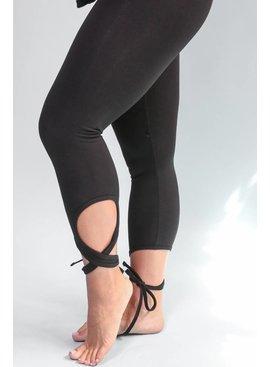 Wrap Ankle Cotton Legging
