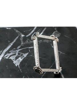 Bracelets Bracelet Square W/ Black Crosses