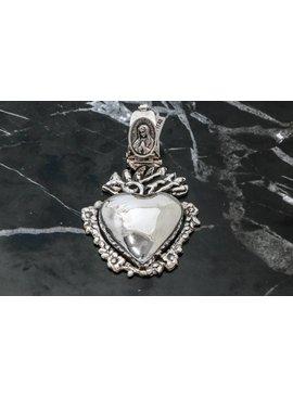 Pendant Sacred Heart W/ Lupita Medal