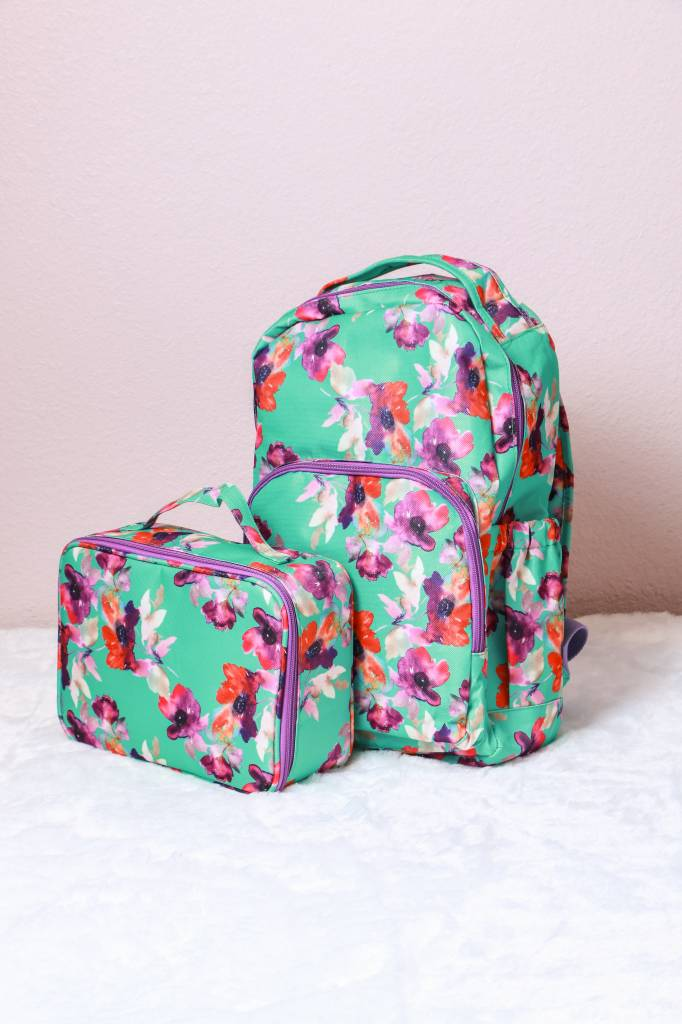 20183 - Floral Lunch Tote
