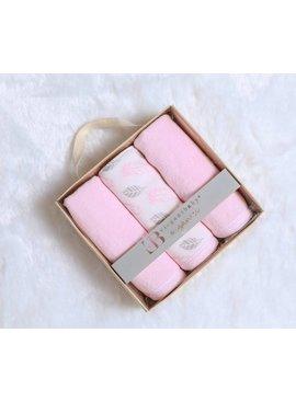 Pink Washcloths