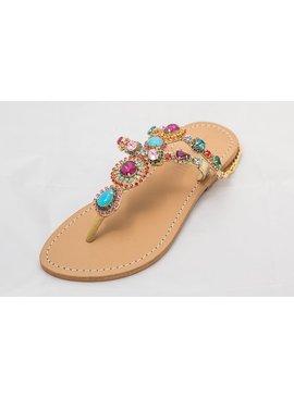 Multi Colored Sandals