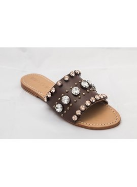 Brandy Jeweled Sandals