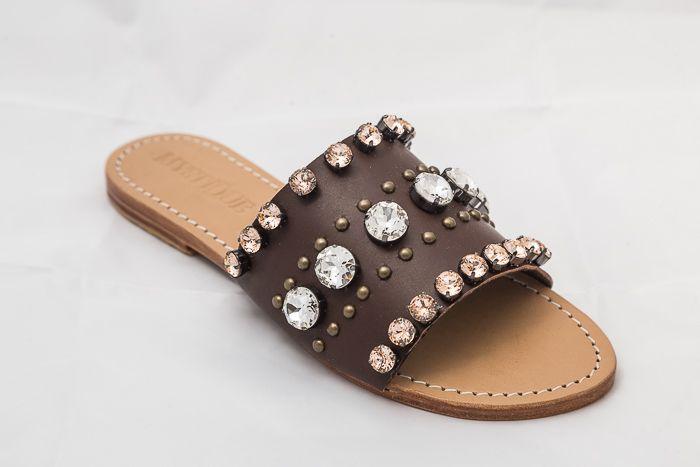 7504 - Brandy Jeweled Sandals