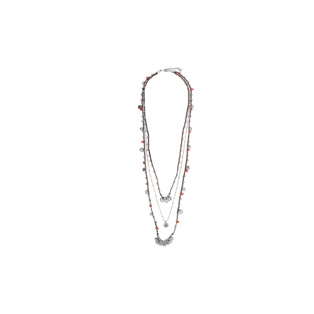 Necklace COL1205ROJMAROU