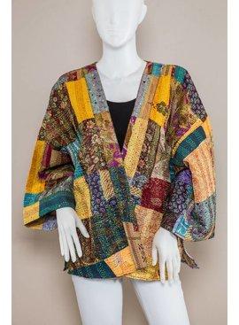 Kimono ED18A68-Audrey Hand Stitched Kimono