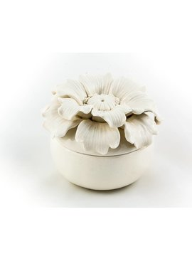 "Floral Trinket Box 4.5"""