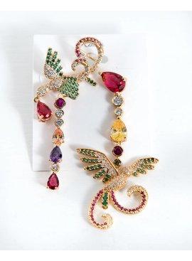 Earrings-PeacocksW/JewelsDangle