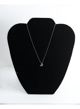 Theia Necklace 29138N0020-PapillionShortNecklaceCZWhiteGold