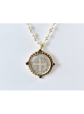 Necklace M:SBP4-bg-b66-s2-SanBenPearlMagdalenaNck