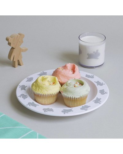 Buddy and Bear ASSIETTE LAPIN