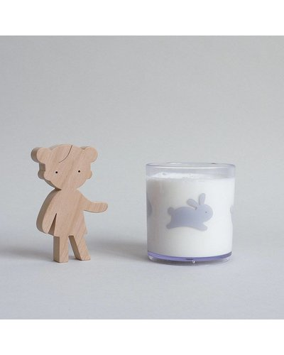 Buddy and Bear VERRE LAPIN