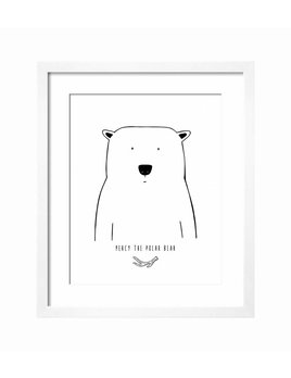 The Wild Kids Apparel AFFICHE - OURS POLAIRE