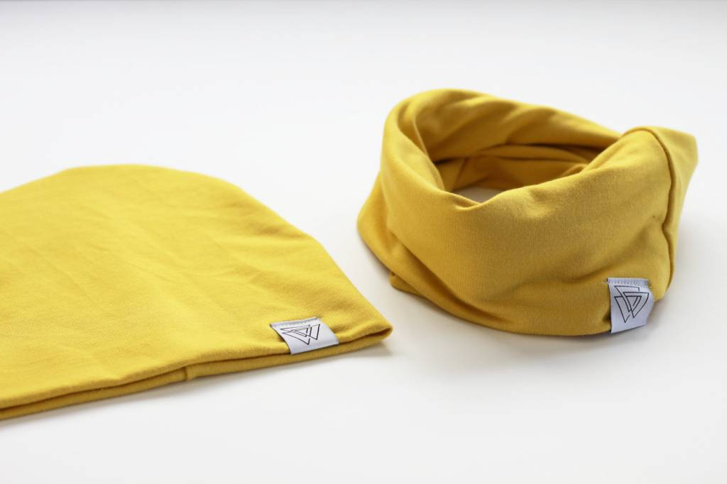 Wylo and Co FOULARD INFINI - MOUTARDE