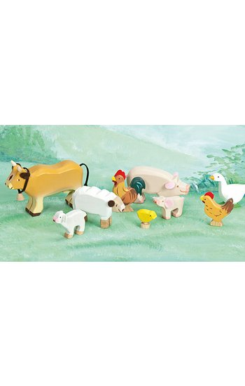 Le Toy Van ENSEMBLE D'ANIMAUX DE LA FERME