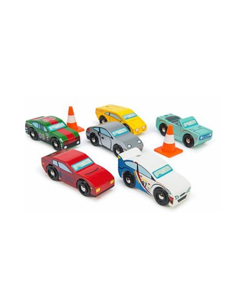 Le Toy Van ENS. DE 6 VOITURES SPORTS MONTECARLO
