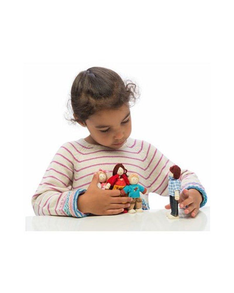 Le Toy Van FAMILLE DE 4 POUPÉES