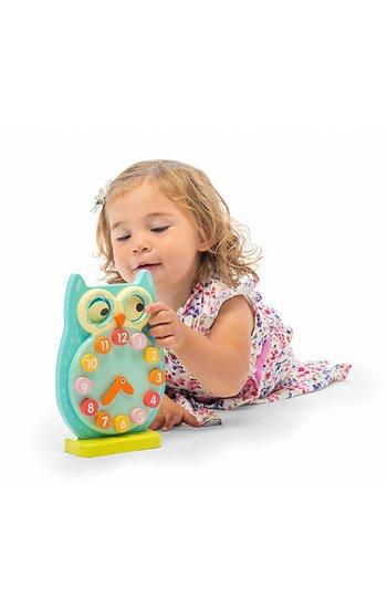 Le Toy Van HORLOGE HIBOU CLIN D'OEIL