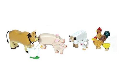 Le Toy Van ENSEMBLE D'ANIMAUX DE LA FERME