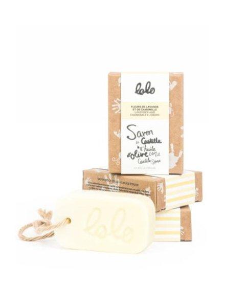 Lolo & Moi BARRE DE SAVON CASTILLE - LAVANDE