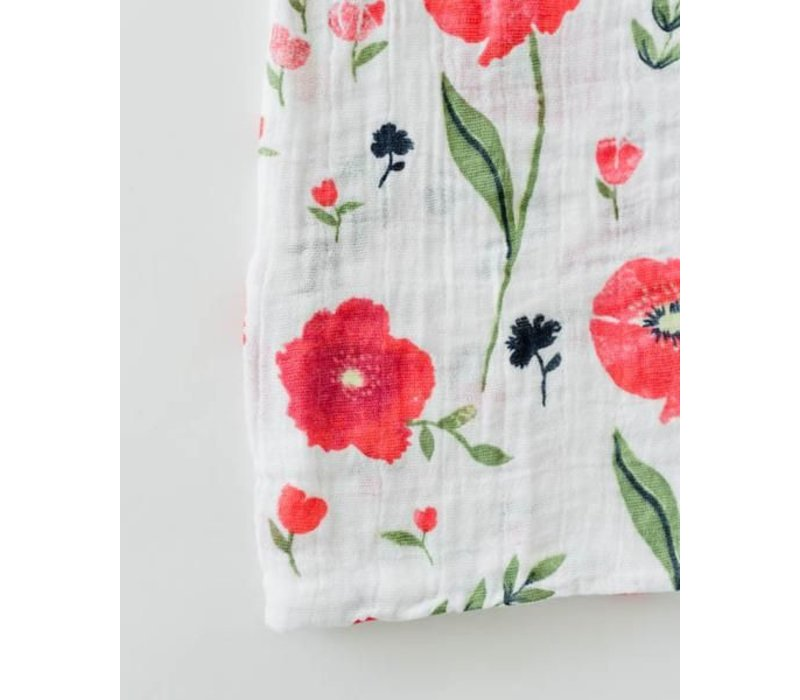 MOUSSELINE COTON - SUMMER POPPY