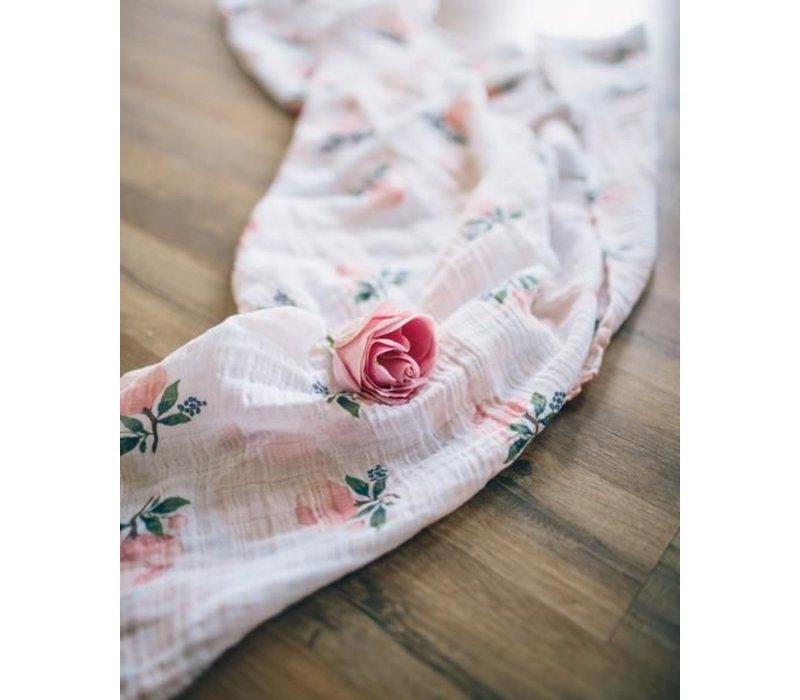 MOUSSELINE COTON - WATERCOLOR ROSE