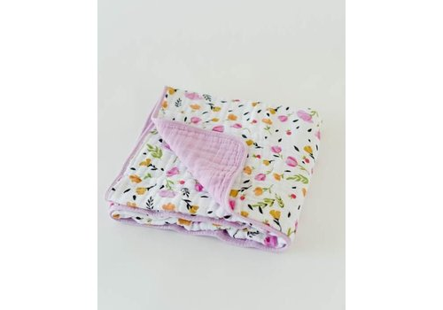 Little Unicorn COUVERTURE COTON - BERRY & BLOOM