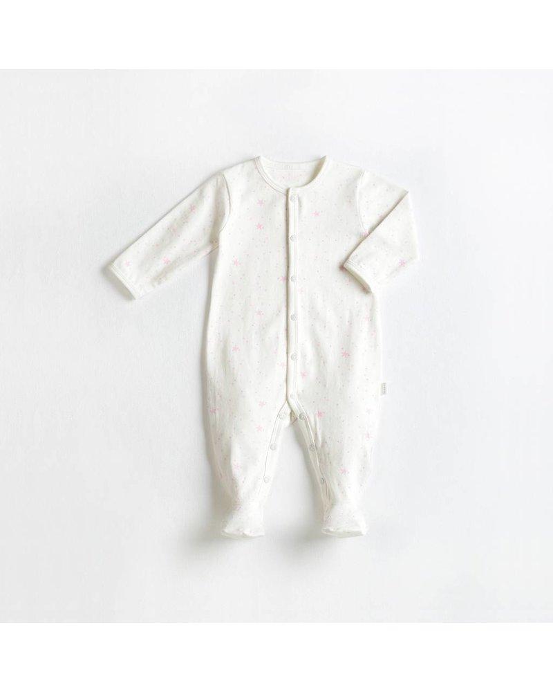 Miles Baby Brand PYJAMA ÉTOILES - ROSE