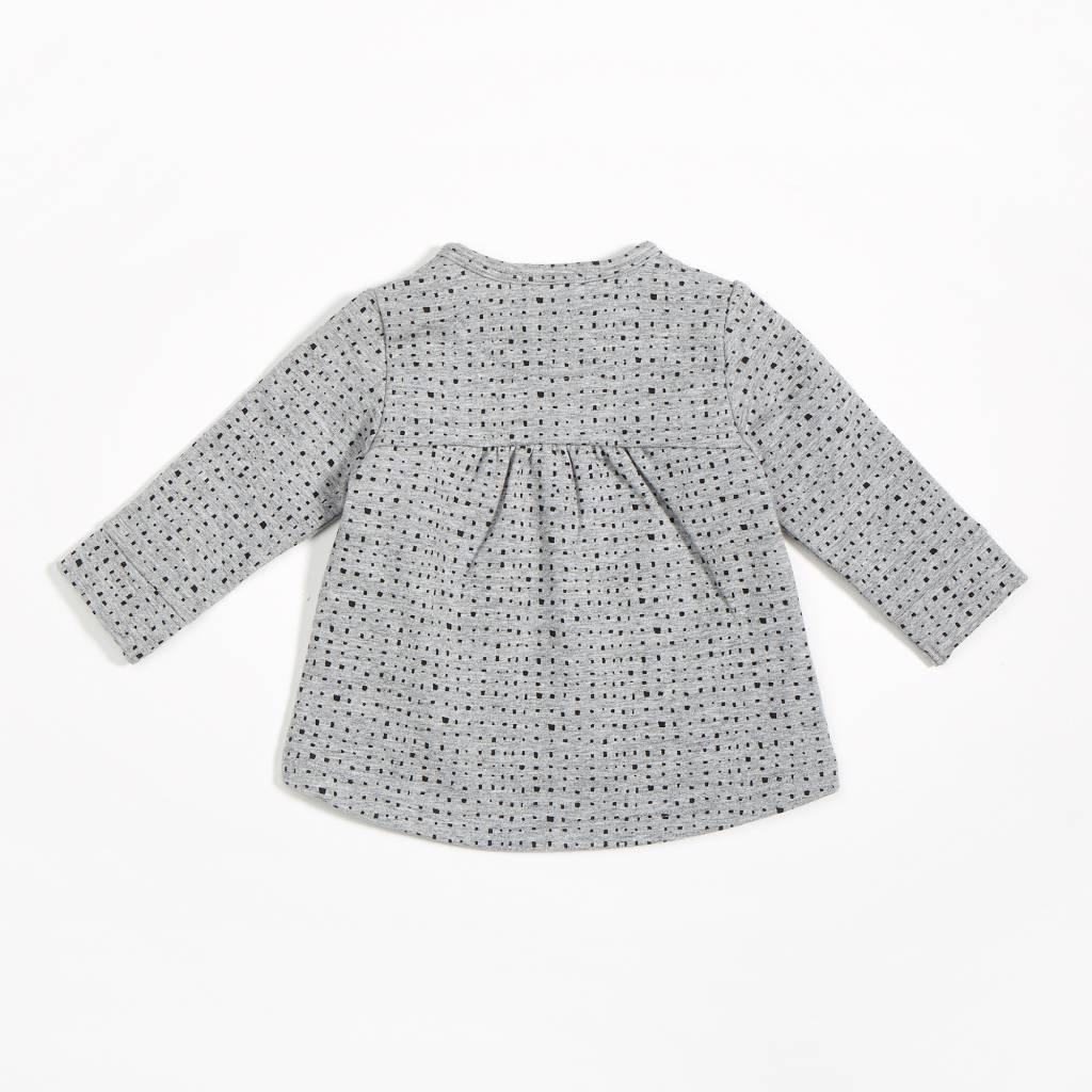 Miles Baby Brand TUNIQUE BLOCK - GRIS/NOIR